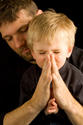 Teaching kids to pray. Client - Focus on the Family